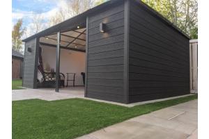 Cladco Wall Cladding Garden Room Case Study