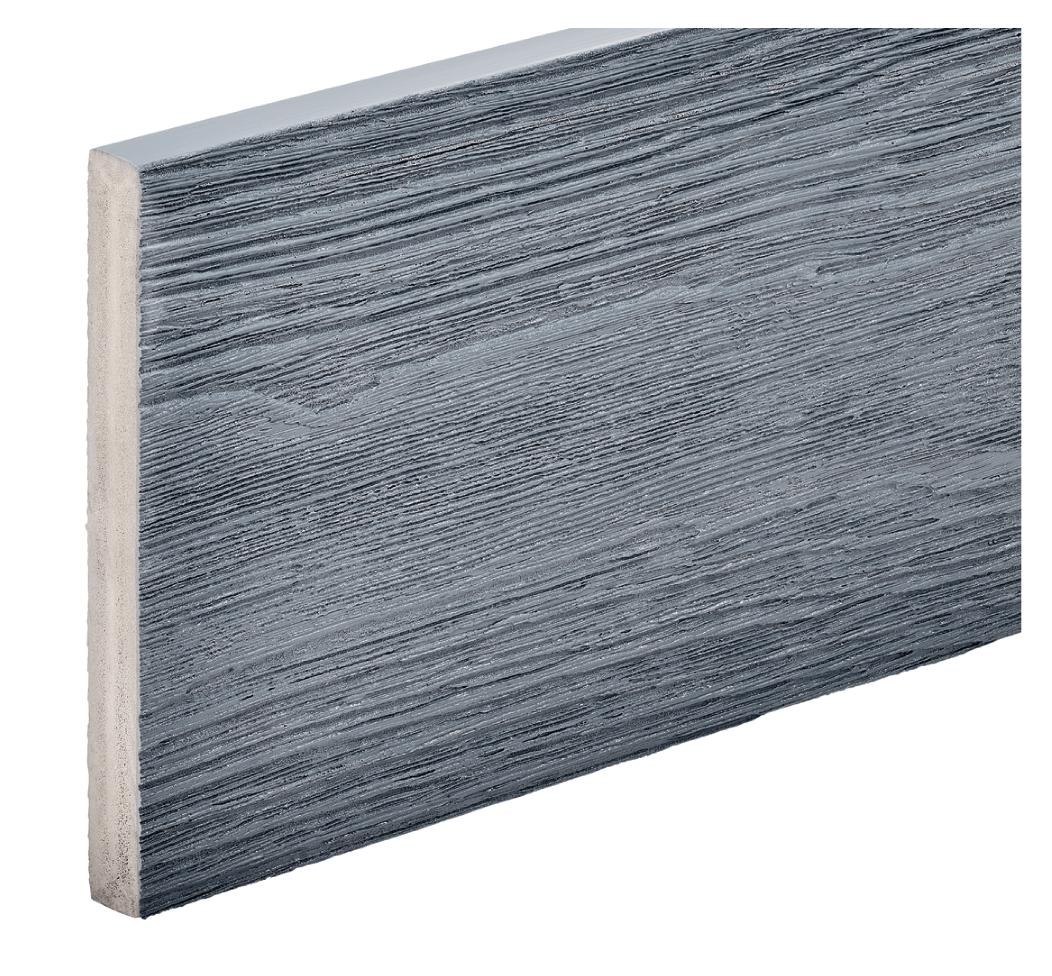 Capstock PVC-ASA Woodgrain Effect Premium Grade Bullnose Fascia Board