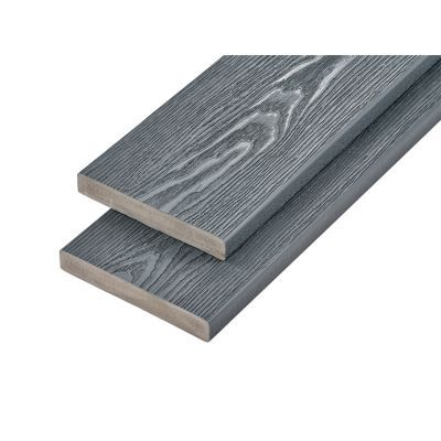 3.6m Premium Woodgrain Effect Decking Board Capstock PVC-ASA
