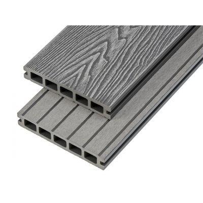 4m Woodgrain Effect Hollow Domestic Grade Composite Decking Board