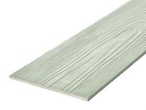 Fibre Cement Wall Cladding, Sage Green woodgrain C06/RAL 7030, 210mm x 8mm, 3.66m length
