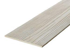 Fibre Cement Wall Cladding, Unpainted plain, 210mm x 8mm, 3.66m length