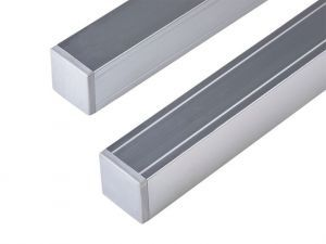 Composite Fence Posts, aluminium 68mm x 68mm Aluminium 2.7m long