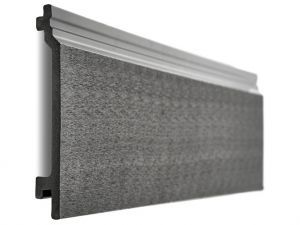 Composite Wall Cladding in Charcoal