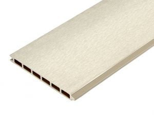 3.6m Fencing Panel in Ivory