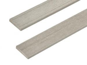Composite Decking Skirting Trim in Ivory