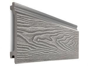 Composite Woodgrain Wall Cladding in Light Grey