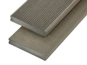 4m Solid Commercial Grade Bullnose Composite Decking Board