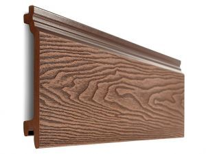 Composite Woodgrain Wall Cladding in Redwood