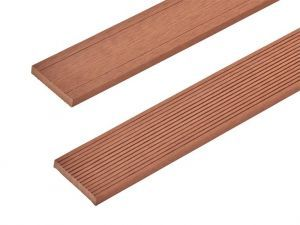 Composite Decking Skirting Trim in Redwood