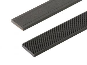 Composite Decking Skirting Trim in Charcoal