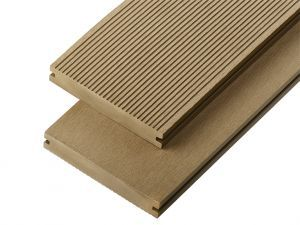 2.4m Solid Commercial Grade Composite Decking Board