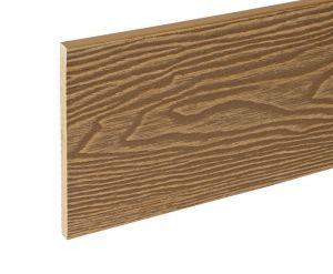 2.4m Composite Fascia Board-Teak