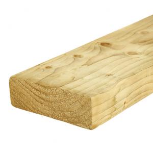 C24 Sawn Green Treated Timber Decking Joist 47mm x 150mm