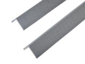Light Grey Corner Trim 60mm x 50mm