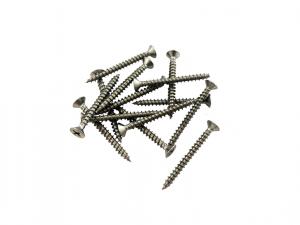 M4x40mm Stainless Steel Wood Screws (Pack of 100)