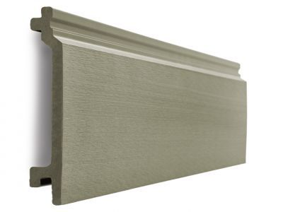 Composite Wall Cladding in Olive Green