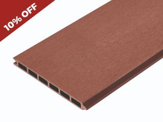 4m Composite Fence Boards, Composite Fencing Panels