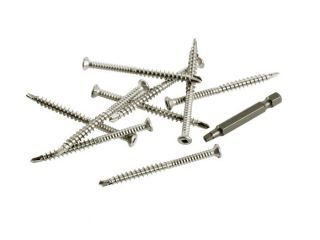 SPEEDDEKZ 316 Stainless Steel Decking Screws (Pack of 100)