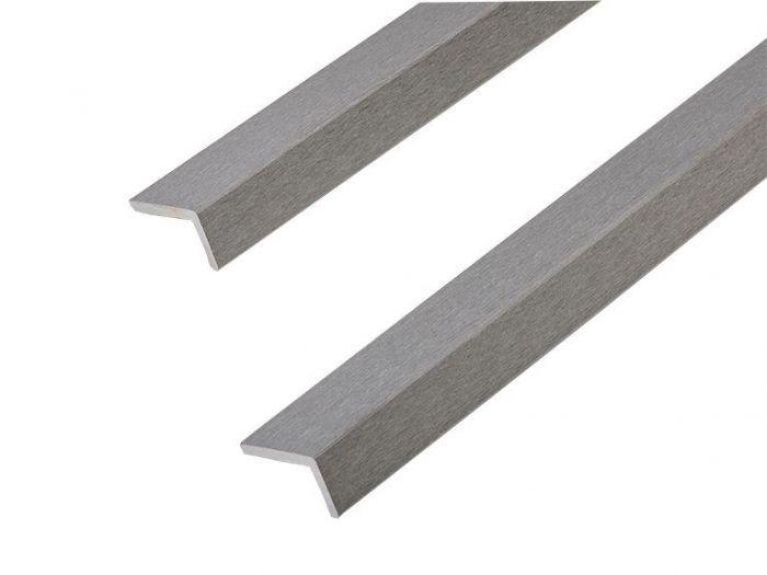 Cladco grey corner trims
