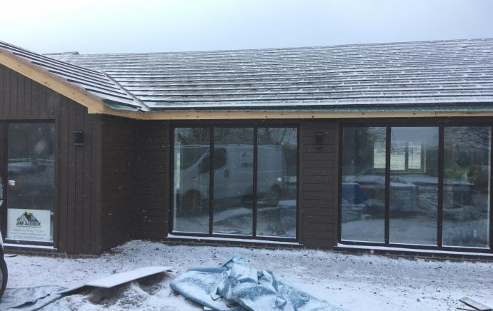 Worcestershire Animal Rescue Centre Extension | WPC Decking