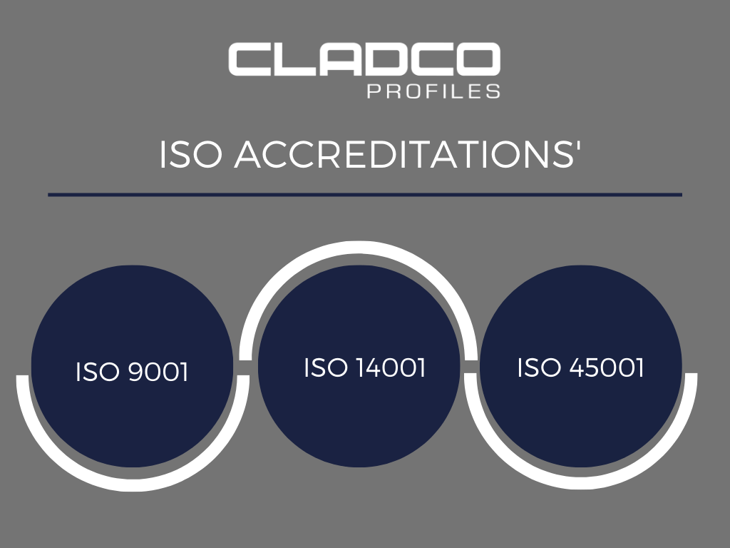 Receiving three ISO accreditation's, a business's Journey