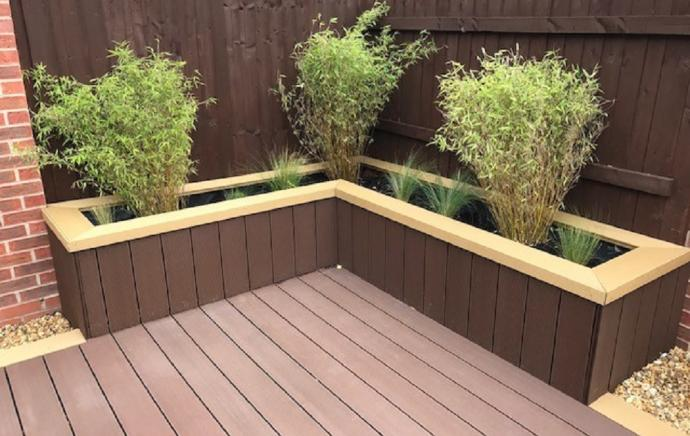 What can I do with my leftover decking?