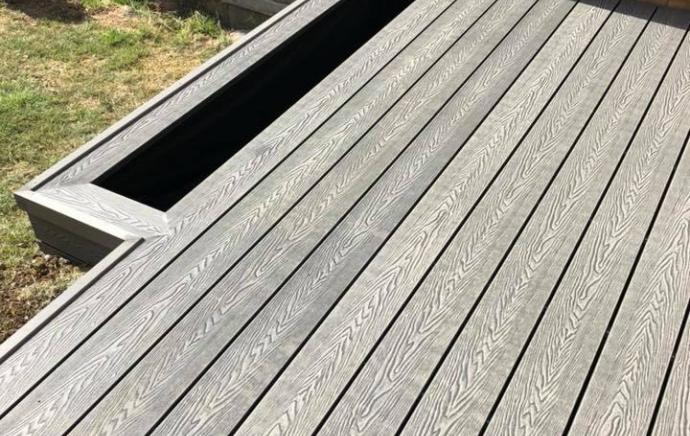 New Cladco Woodgrain Decking Boards are added to the range.