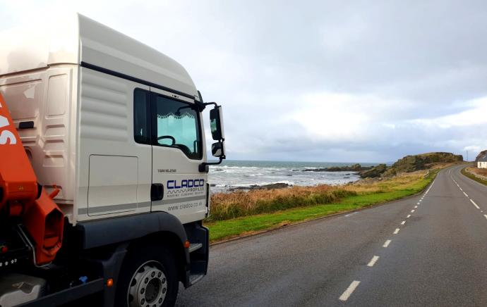 Cladco Profiles Journey To Campbeltown, Scotland