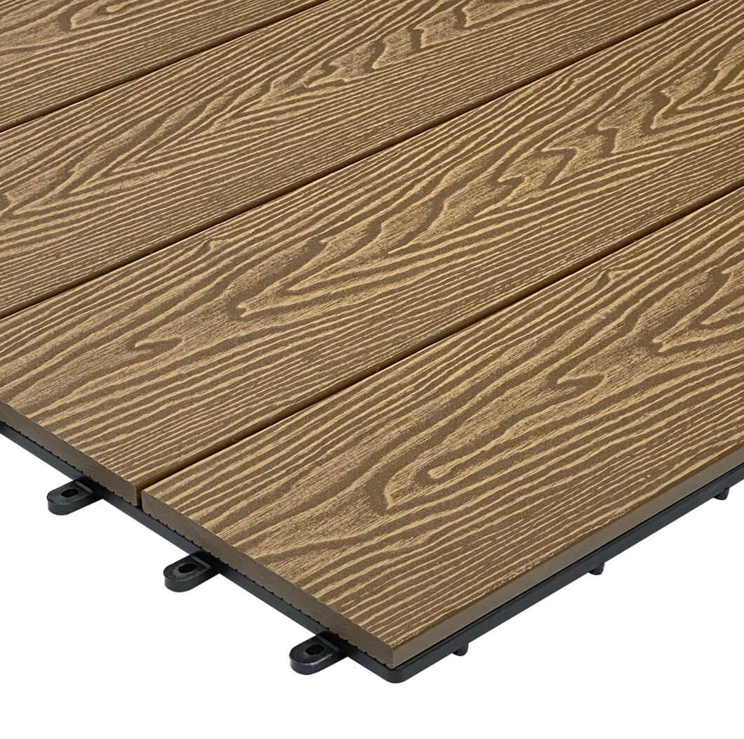 New Range of Cladco Composite Decking Tiles