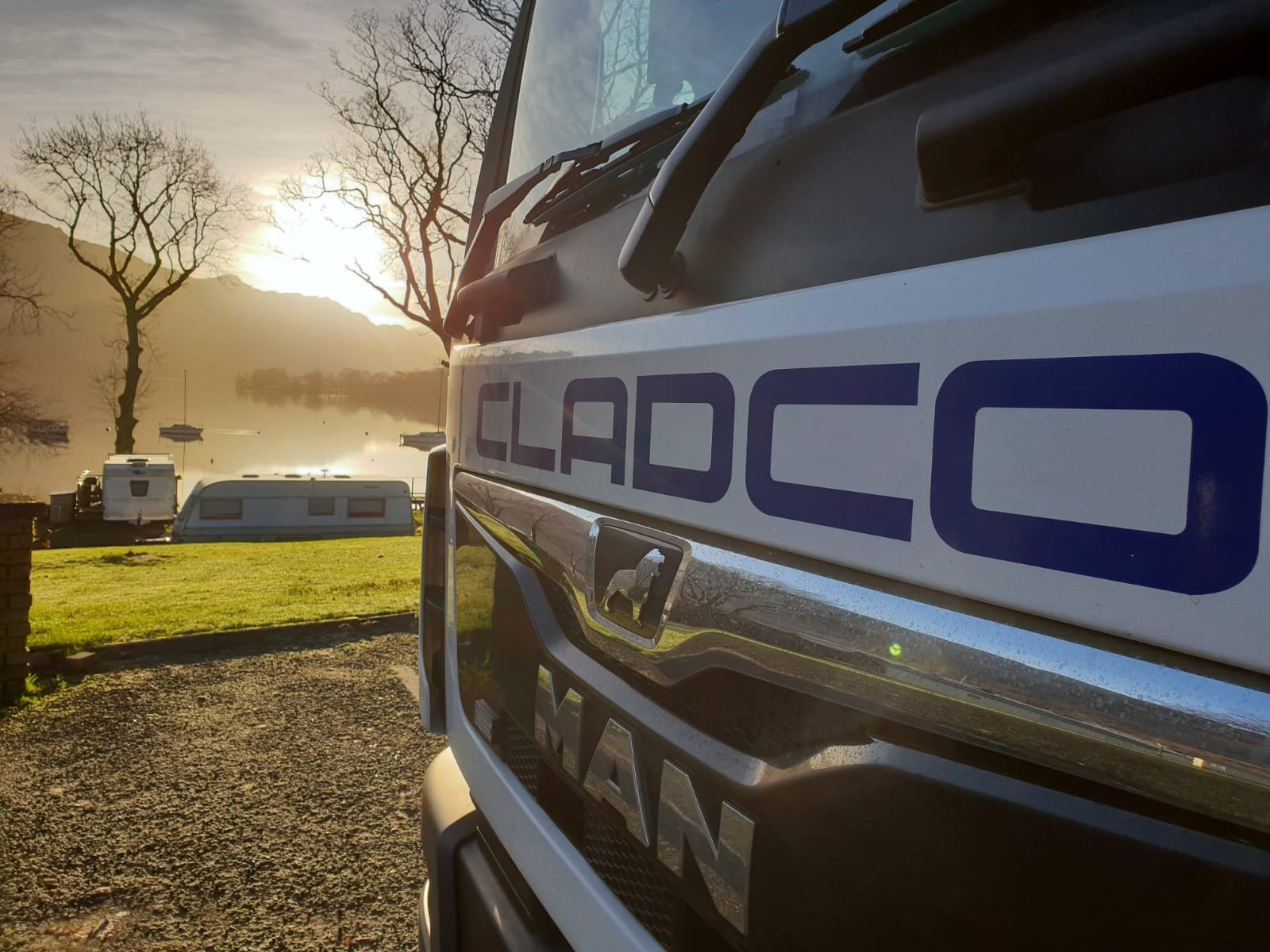 Cladco Lorries deliveries across the UK