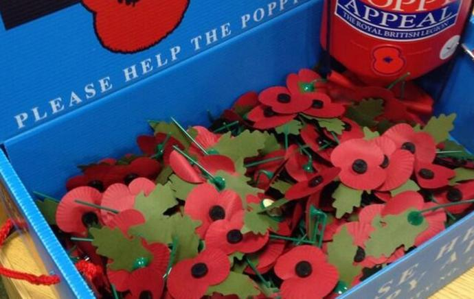Cladco Raises Money for the Poppy Appeal 2018
