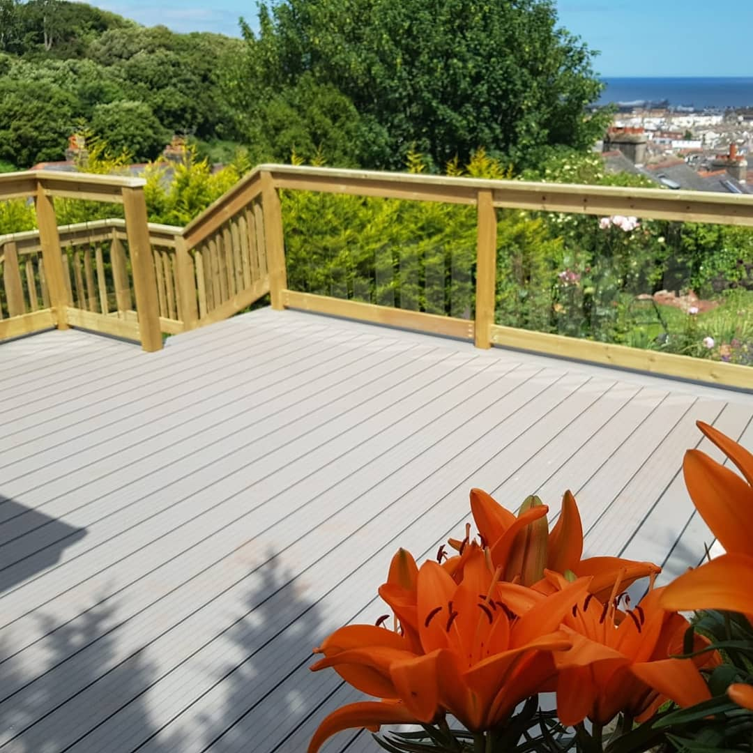Decking Steps to Balcony
