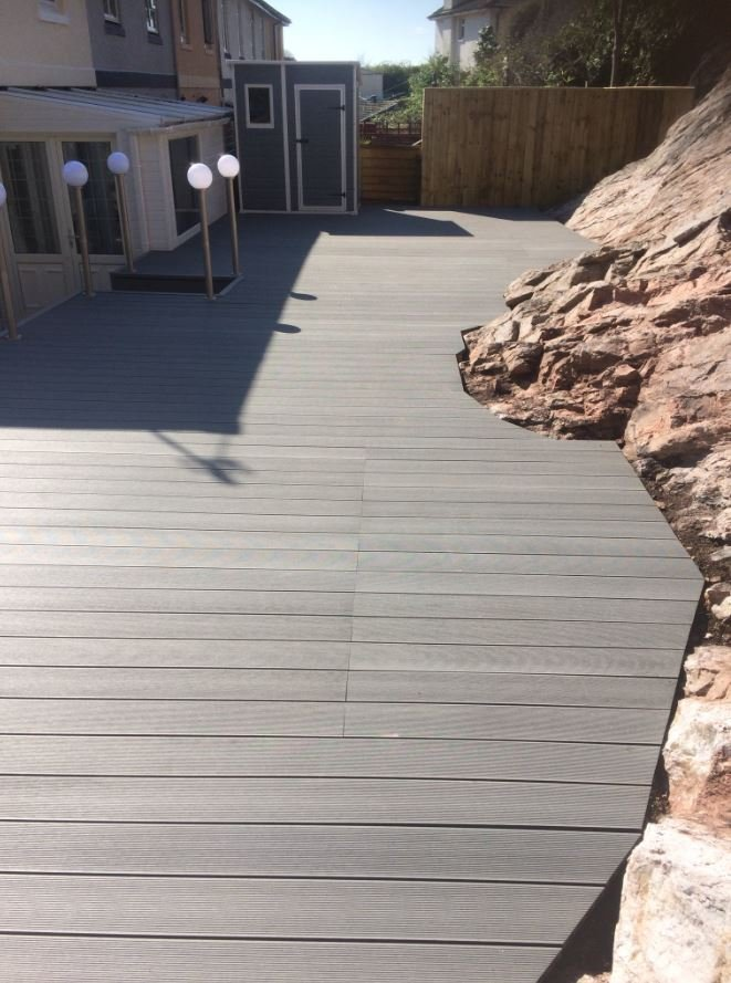 Stone Grey Original Decking