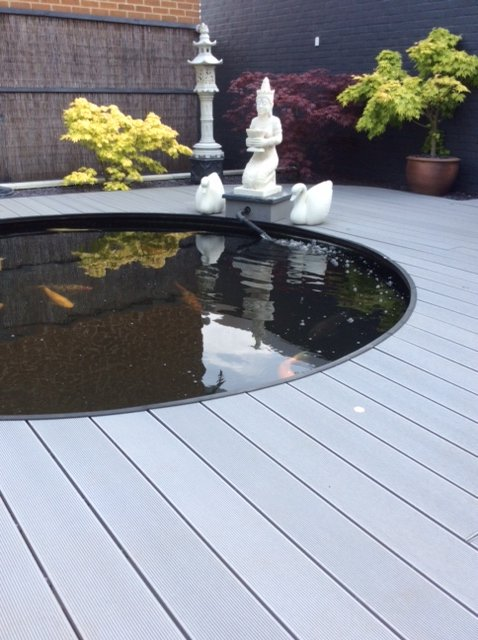 Light Grey Decking Boards