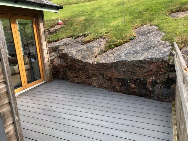Stone Grey Decking