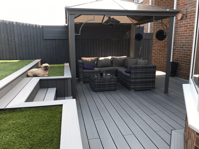 Stone Grey & Light Grey Deck