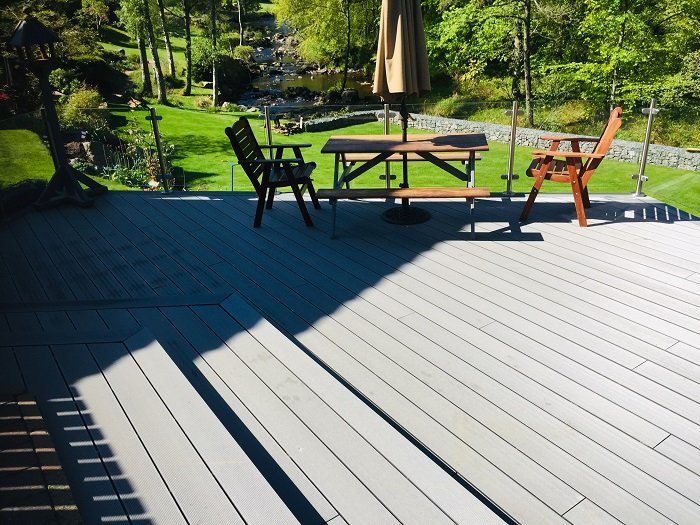 Stone Grey Decking Boards