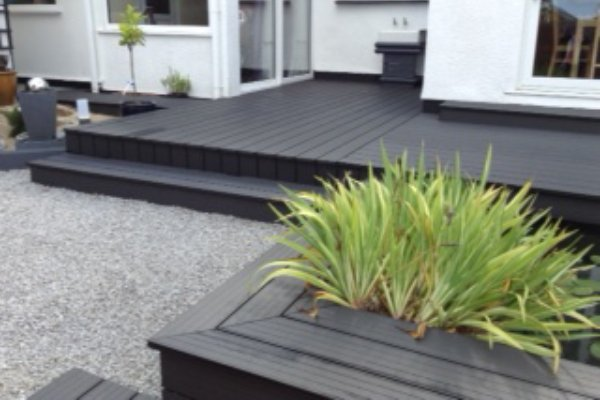 Cladco Black/Charcoal Decking