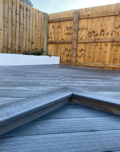 Help Prevent Cladco Decking from becoming slippery from