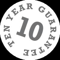 10 Years Guarantee